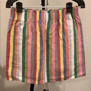 JCrew mini skirt super cute and comfortable